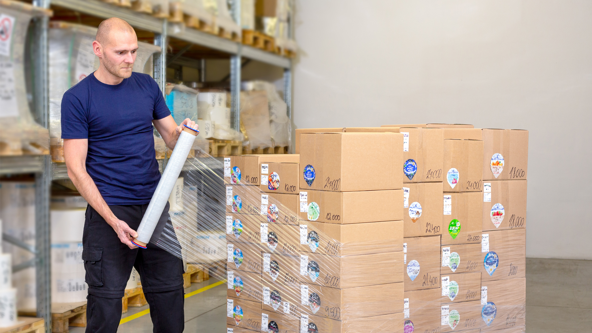 Stretch film: POLIFILM EXTRUSION starts pilot project for the wholesale trade