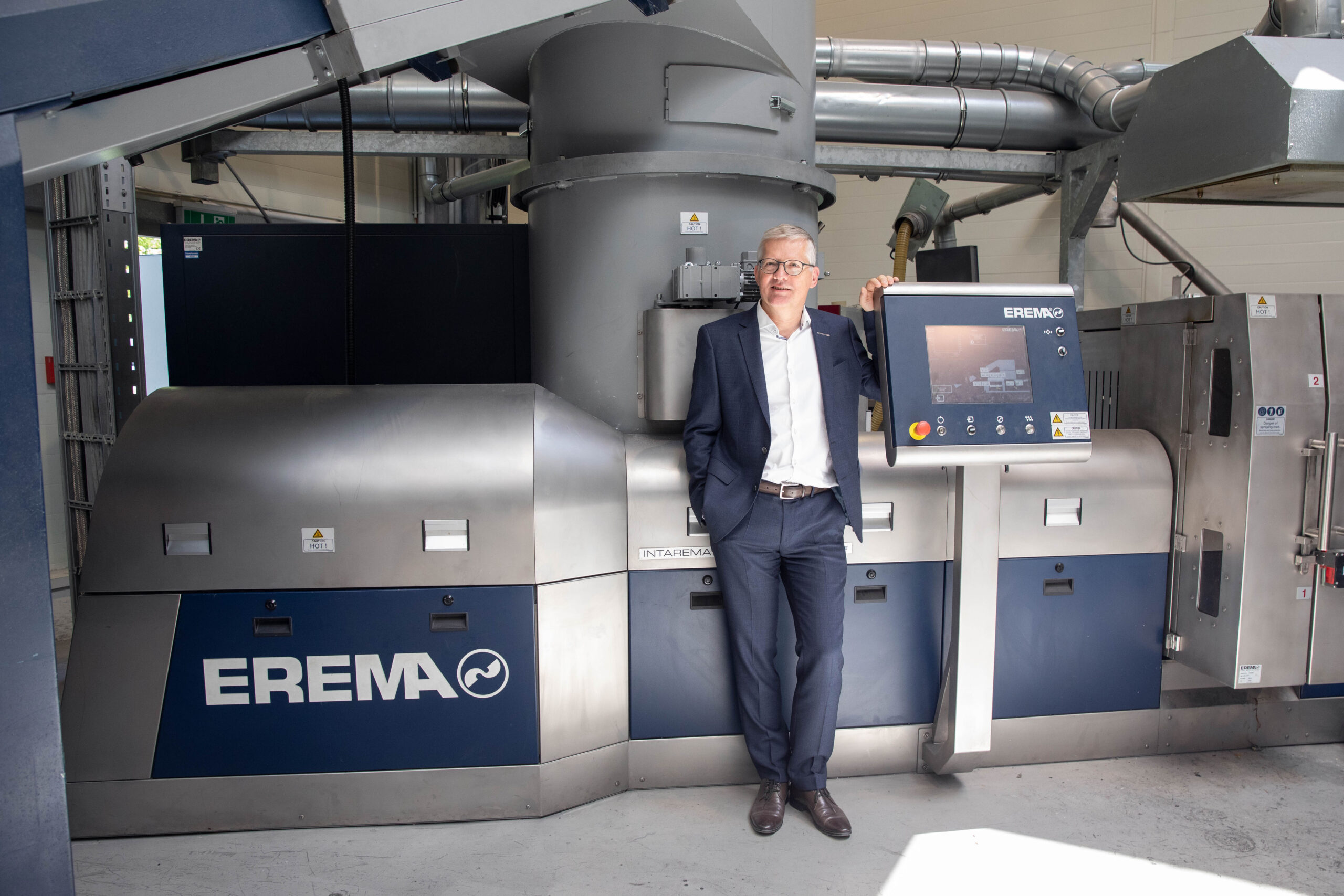 Specialist for plastics recycling machines EREMA becomes R-Cycle partner