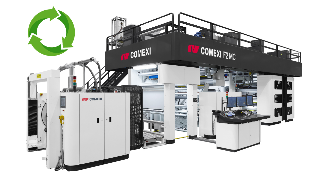 Comexi – leading supplier to the flexible packaging converters industry – joins R-Cycle